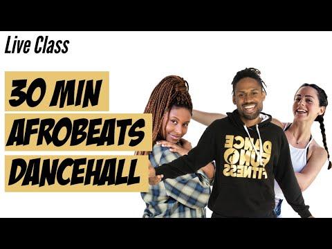 LIVE CLASS African Dance Online Workout - Afrobeats & Dancehall - Workout and Choreography