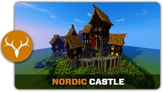 Minecraft Building Tutorial How To Build A Nordic Castle