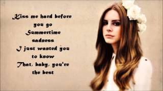 Summertime Sadness-Lana Del Rey Lyrics