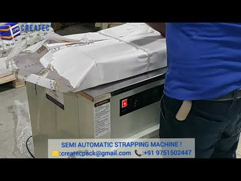 Carton Strapping Machine For Textile Industries
