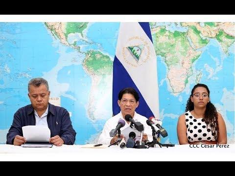 Nota de Prensa del Gobierno de Nicaragua ante la escalada de violencia que sufre el país