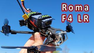 Diatone Roma F4 LR Micro Long Range Quad Review ????