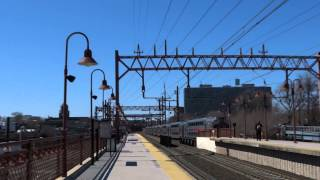 preview picture of video 'NJT Gladstone, Morristown & Montclair-Boonton Lines: Dover trains @ Newark-Broad Street!'