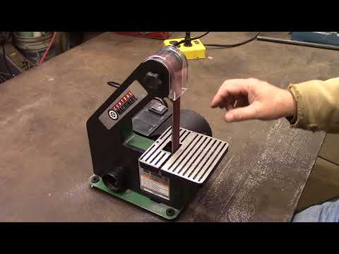 Harbor Freight 1 Inch Belt Sander Review