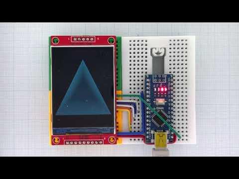 Arduino_GFX Arduino Nano ILI9341