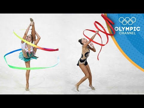 Twins Dina and Arina Averina are Russia's Latest Rhythmic Gymnastics Stars