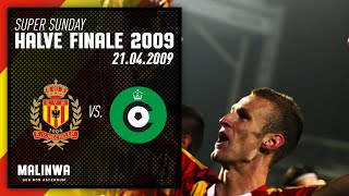 Retro Game I Halve Finale Beker 2009: KV Mechelen-Cercle Brugge
