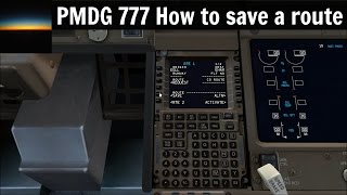FSX] PMDG 777 Tutorial: How to program the B777 FMC - Самые