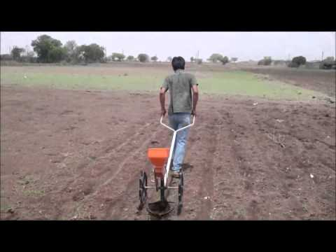Manually Operated Seed Drill