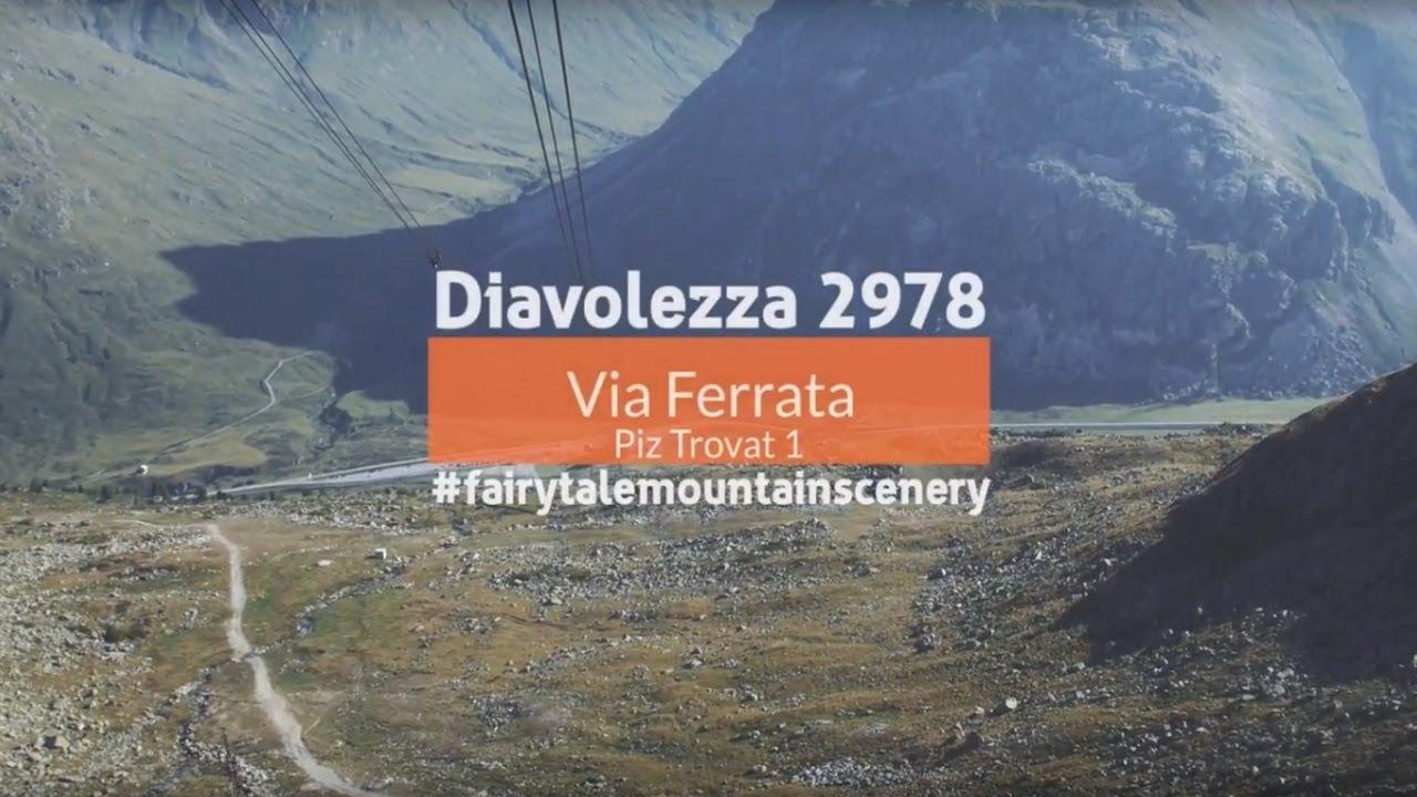 Klettersteig Piz Trovat : Diavolezza klettersteige hochalpinismus