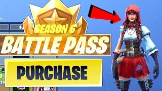 *UNLOCKING* SEASON 6 BATTLE PASS 100 TIERS!!! - Fortnite Battle Royale