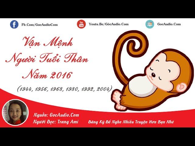 Lá số tử vi: Vận mệnh người tuổi Thân (Khỉ) năm 2016 (Bính Thân)