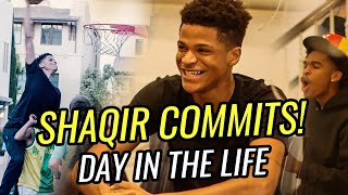 Shaqir O'Neal Is COMMITTED! Day In The Life With Shareef O'Neal, Jaygup And The Fam