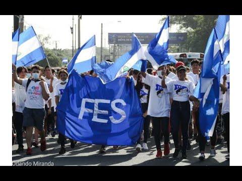 Juventud Sandinista 19 de Julio conmemora el Día del Estudiante