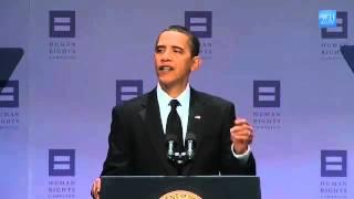 President Obama Speaks for Gay Civil Rights