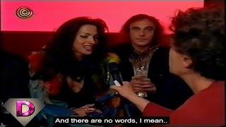 Dana International Interview After Winning The 1998 Eurovision (English subs)