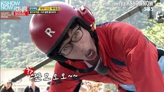 Kim Jong Kook Rope Pulls Three People by Himself - ep 169 Running Man