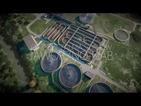 Oczyszczalnia ścieków w Jaworznie 3D