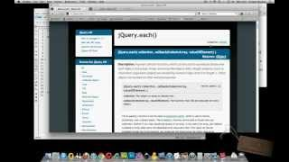 INTRO to jQUERY .EACH() FUNCTION - Super Simple Javascript/jQuery Tutorials