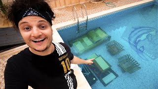 Underwater House | سوينا بيت تحت المسبح