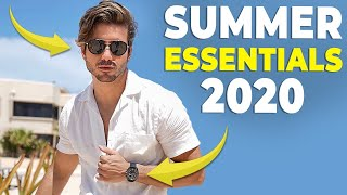 5 SUMMER ESSENTIALS EVERY GUY NEEDS | Mens Fashion 2020 | Alex Costa