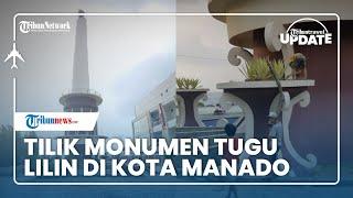 Monumen Tugu Lilin di Pusat Kota Manado Jadi Simbol Toleransi Umat Beragama
