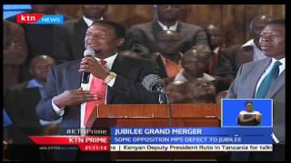 Jubilee affiliate parties fold incognitance with the requirements of the Grand Merger of Jubilee