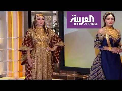 العرب اليوم - شاهد: أحدث تصاميم وأزياء العروس ليلة الحناء