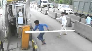 Vandalism at Gurgaon Faridabad (BS1)