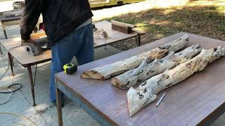 Driftwood Is Natures Art - Turning A Piece Of Driftwood Into Wall Art