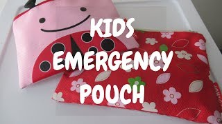 EMERGENCY KITS FOR KIDS IN PRIMARY GRADE