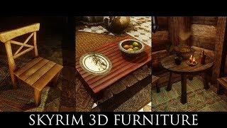 Skyrim SE Mods -  Skyrim 3D Furniture