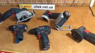 Bosch GWS 10,8-76 V-EC Professional (06019F2002) - відео 1