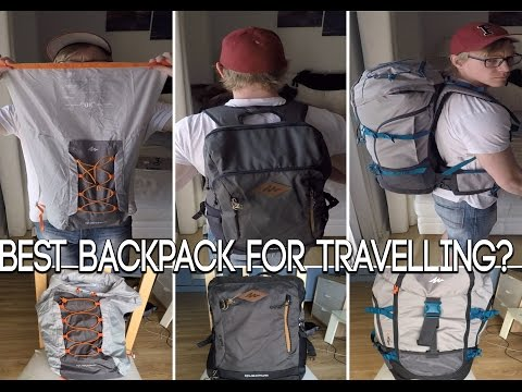 BEST BACKPACK TO GO TRAVELLING? | MY CHOICE
