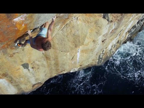 Deep Water Soloing: Climbing with the Ocean as a Safety Net Red Bull  Red Bull