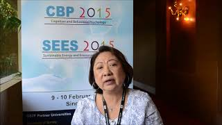 Dr. Mamie Balajadia at CBP Conference 2015 by GSTF