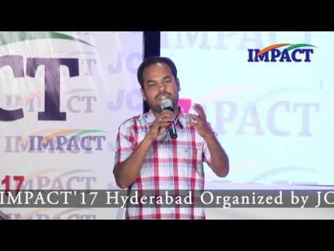 Zero Budget Farming   Parthasaradhi   TELUGU IMPACT Hyd Apr 2017