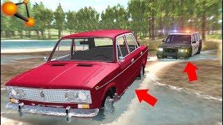 ПОГОНЯ По БЕЗДОРОЖЬЮ - BeamNg Drive