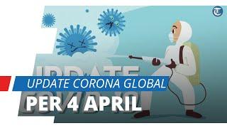 UPDATE Corona Global 4 April, Tembus 1 Juta Kasus, AS Duduki Peringkat Pertama dengan 277.161 Kasus