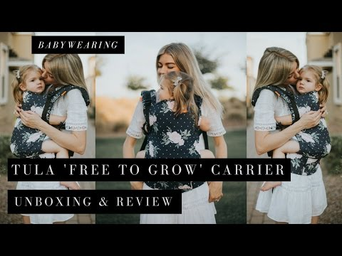 BABYWEARING || Baby Tula 'Free To Grow' Carrier Unboxing & Quick Review