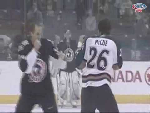 Matt McCue vs. Aaron Boogaard