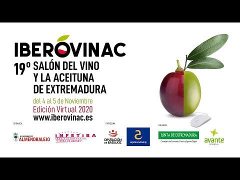 IBEROVINAC 2020 - 4 y 5 Nov - Edición Virtual · 19º SALÓN DEL VINO Y LA ACEITUNA DE EXTREMADURA
