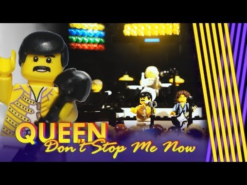 Queen - Don't Stop Me Now (LEGO music video) (видео)