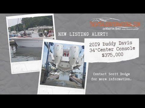 Buddy Davis 34 Center Console video
