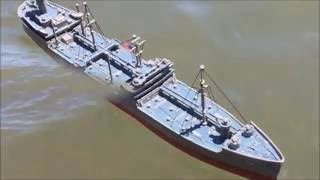 kennebec oil tanker ship 1:525