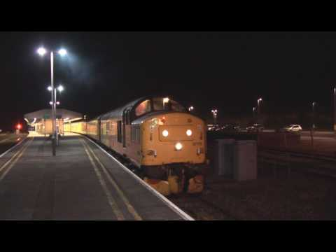 Colas Rail 37175 at Yeovil Junction with an Exeter to Salisb…