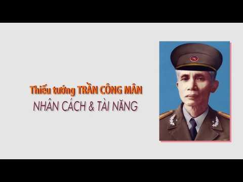Chan Dung Thiếu Tướng Nha Bao Trần Cong Man Một Nha Bao Nhan Cach Tri Tuệ Va Bản Lĩnh