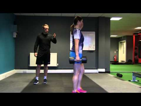 Suitcase Dumbbell Carry