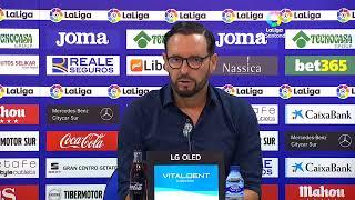 Rueda de prensa Getafe CF vs Villarreal CF
