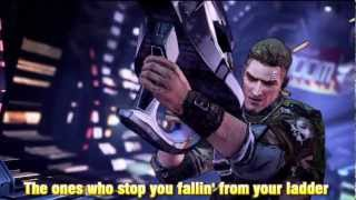 Borderlands 2 opening song Short Change Hero (Lyrics)